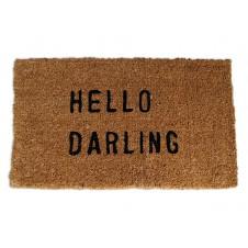 hello darling doormat
