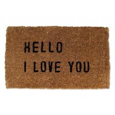 hello i love you doormat