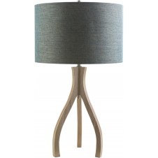 surya duxbury teal table lamp