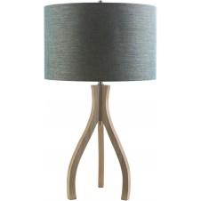 surya duxbury teal table lamp