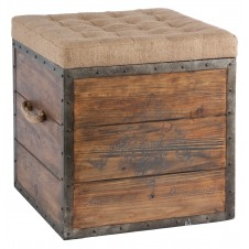 aidan gray the article no.54 wood cube ottoman