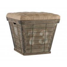 aidan gray square storage crate ottoman