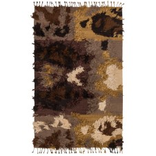 fable collection walnut rug