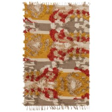 fable collection camel & sunset rug