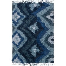 fable collection indigo rug
