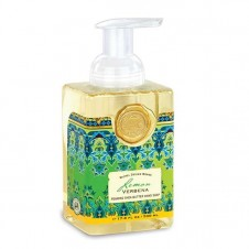 michel design works lemon verbena foaming hand soap