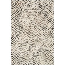 folklore collection ivory & granite rug