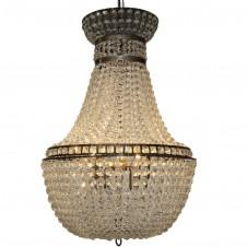 noir ice chandelier