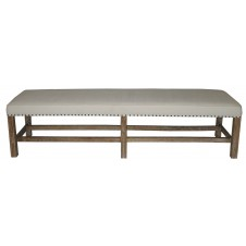 noir sweden grey wash bench