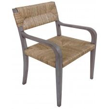 noir bowie arm chair