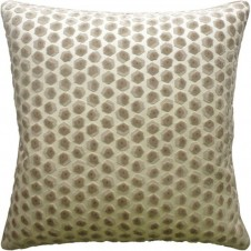 gem velvet beige pillow
