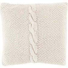 surya genevieve pillow in khaki