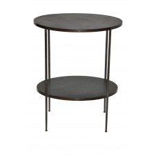 noir rivoli side table