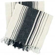 pine cone hill harbor stripe indigo throw blanket