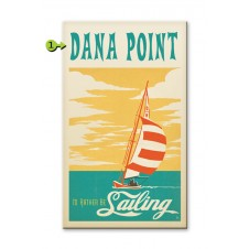 i'd rather be sailing customizable wood sign