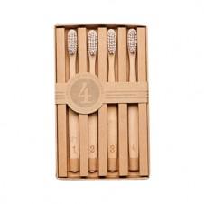 numerals toothbrush set