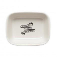 powder room soap dish