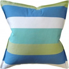 jayanti stripe seaglass pillow