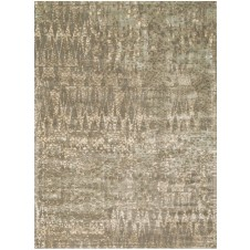 journey collection mocha & multi spears rug