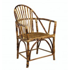 windsor rattan arm chair
