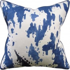 kiki blue pillow