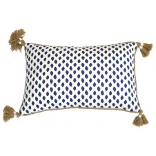 lacefield sahara midnight lumber pillow with tassels