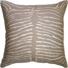 le zebre beige pillow