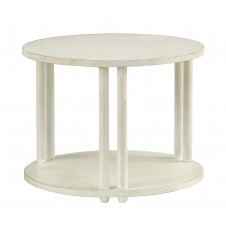redford house livingston round side table