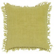 pine cone hill laundered linen citrus decorative pillow
