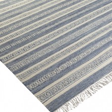 surya lawry area rug, blue