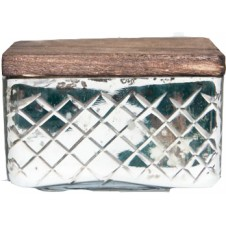 volcano mercury candle jewel box with lid