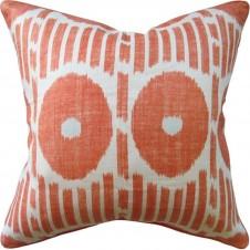 mesa ikat tangerine pillow