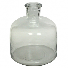 homart milton large glass bottle