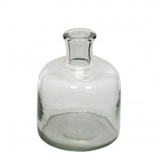 homart milton small glass bottle