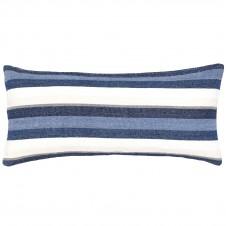 pine cone hill montego stripe indigo chenille pillow