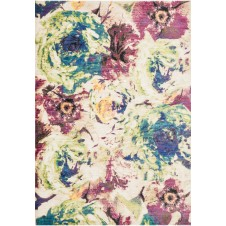 madeline collection magenta multi rug