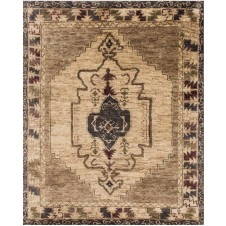 nomad collection mocha & beige rug