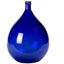 large blue olive bottle