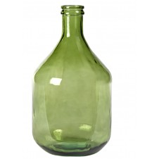 medium green olive bottle