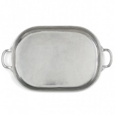 arte italica peltro large oval tray