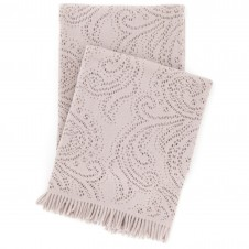 pine cone hill paisley lace stone throw blanket