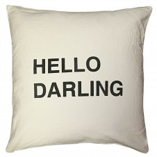 hello darling pillow