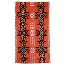 pendleton plains star oversized jacquard towel