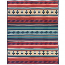 pendleton ribbon dance blanket robe