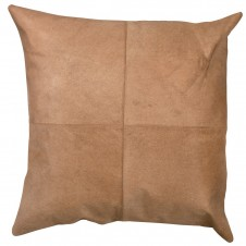 buff hide pillow