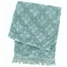 pine cone hill candlewick mineral throw blanket