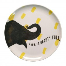 smart elephant melamine plate set of 4