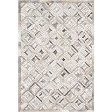 promenade collection ivory & grey rug