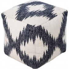 surya frontier ikat pouf