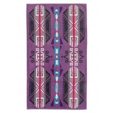 pendleton purple hills oversized jacquard towel